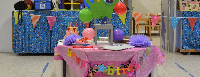 Verjaardagsfeest jules